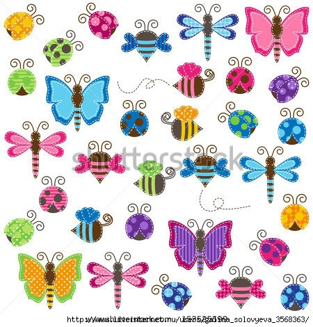 stock-vector-large-vector-collection-of-patchwork-and-baby-shower-themed-bugs-153525599 (450x470, 190Kb)