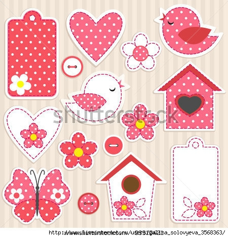 stock-vector-vector-scrapbook-elements-love-set-93510421 (450x470, 172Kb)