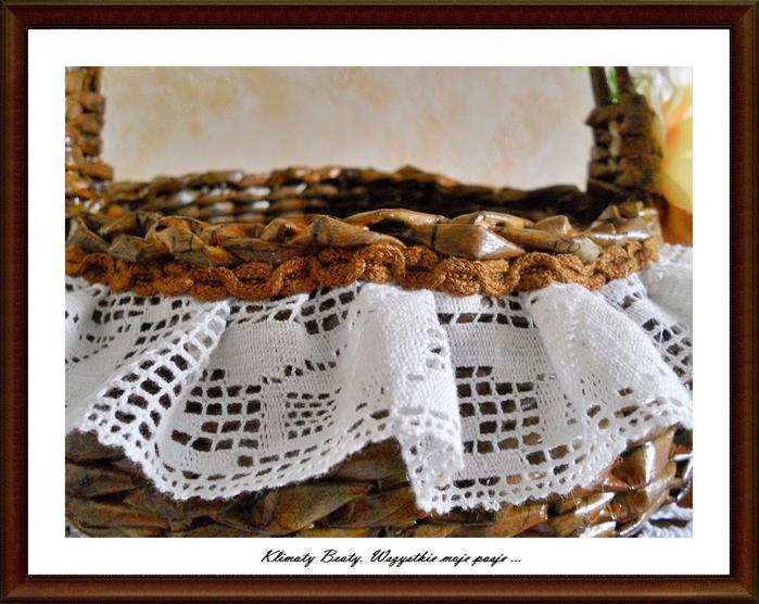 плетение из газетных трубочек. корзинки (116) (700x556, 454Kb)