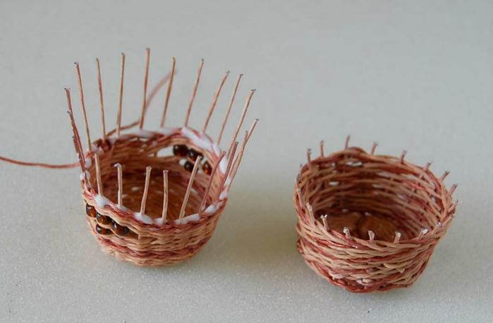 Плетение из нити. Корзинки (7) (700x458, 206Kb)