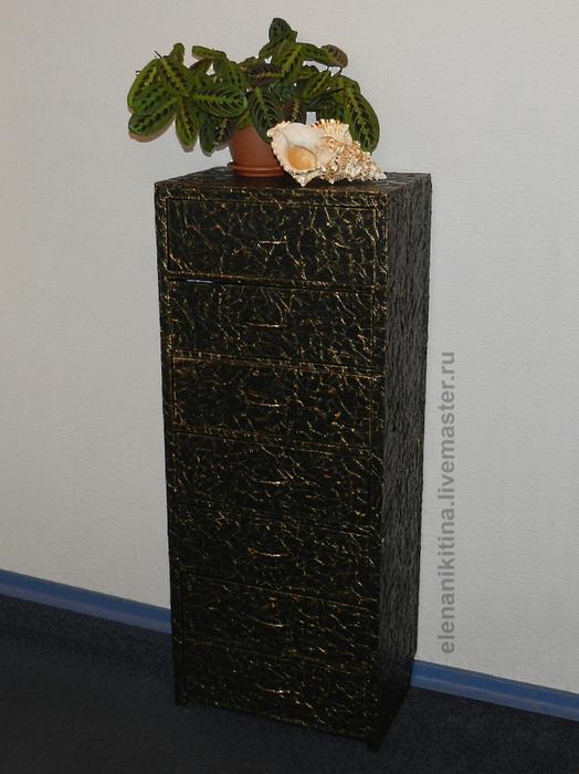 Высокий комод из гофрокартона (20) (524x700, 322Kb)