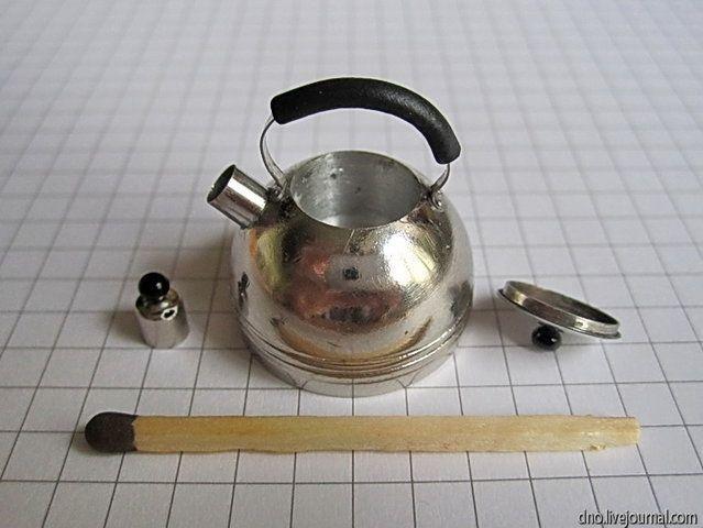 Как сделать миниатюрный чайник из ручки ящика тумбочки (1) (639x480, 162Kb)