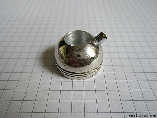 Как сделать миниатюрный чайник из ручки ящика тумбочки (7) (639x480, 152Kb)