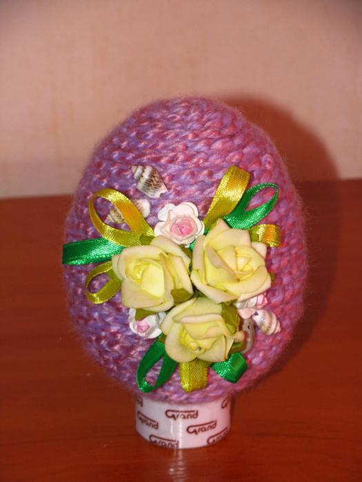 Пасхальное яйцо из пряжи. Мастер-класс (17) (525x700, 353Kb)