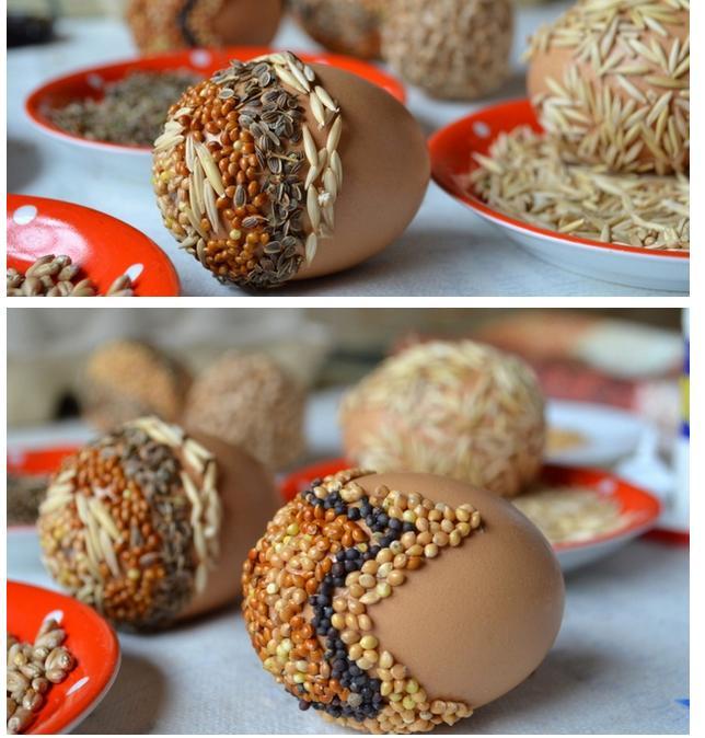 пасхальные яйца из крупы (6) (644x674, 349Kb)
