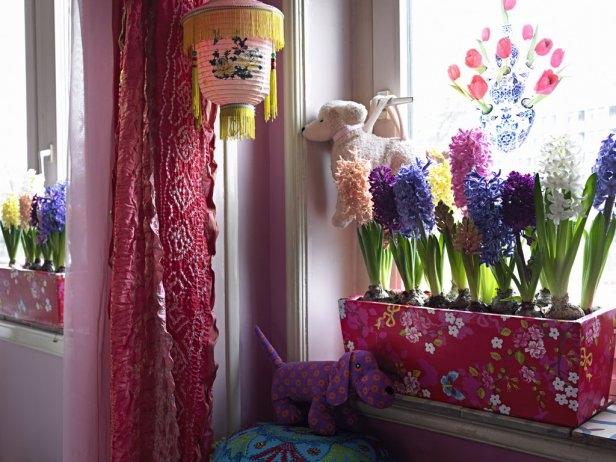 Луковичные цветы в интерьере. Подборка красивых фотографий (5) (616x462, 262Kb)