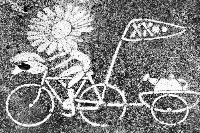 велосипед асфальт