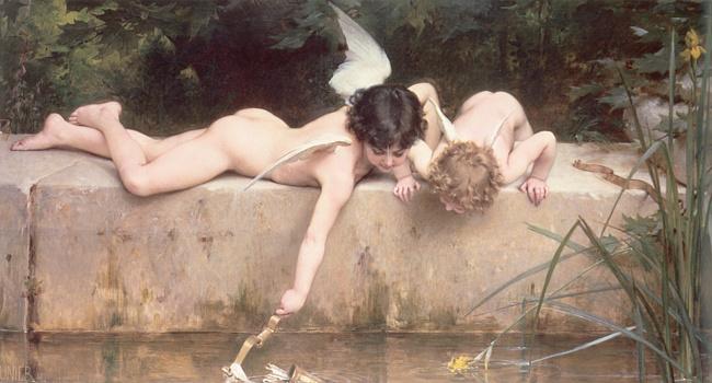 Картины ангельские, молча, созерцаю