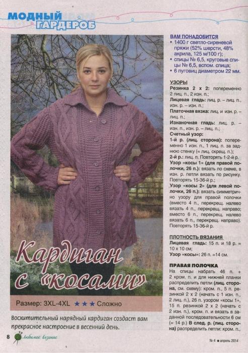 Дневник рубрика вязание