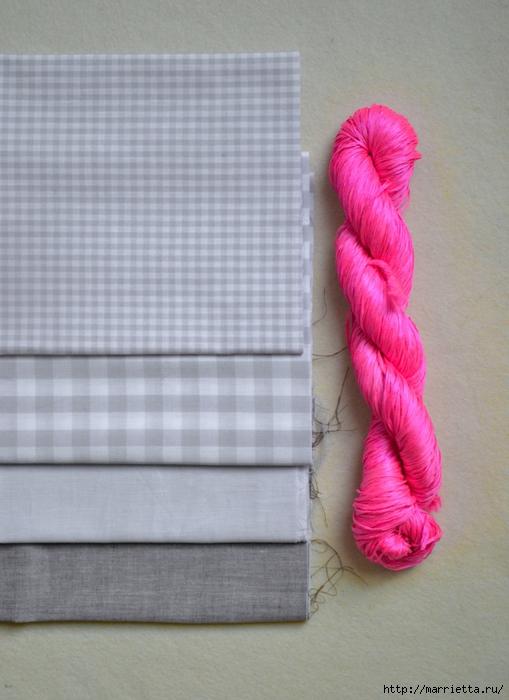 Обработка края кухонного полотенца, без швейной машинки (4) (509x700, 239Kb)