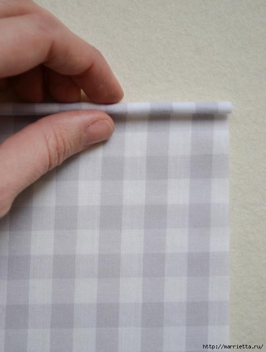 Обработка края кухонного полотенца, без швейной машинки (6) (529x700, 217Kb)