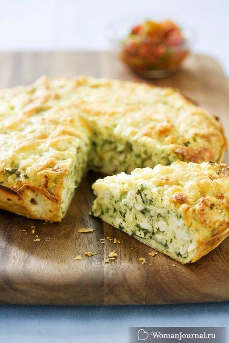 Рецепт быстрого пирога на кефире с капустой