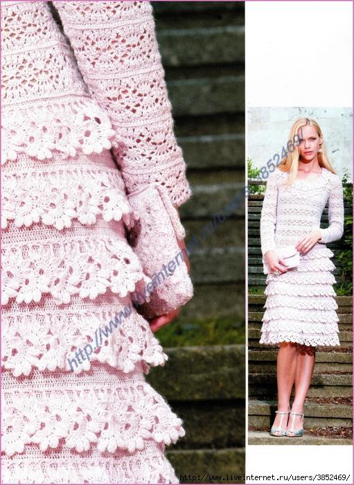 Платье клатч бледно-розового цвета (511x700, 359Kb)