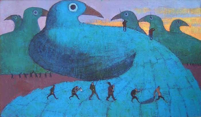 Охота на синюю птицу (700x406, 212Kb)