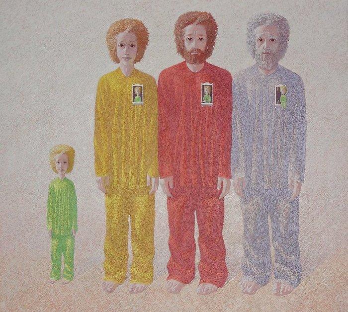 Четыре возраста мужчины (700x628, 413Kb)