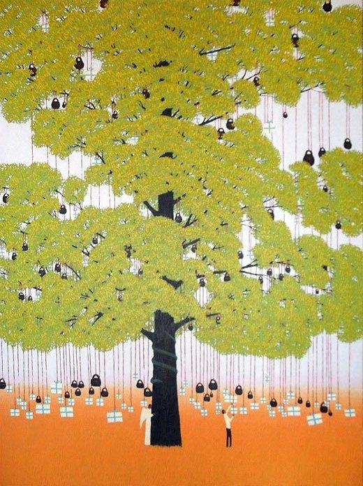 Дерево желания (520x696, 435Kb)