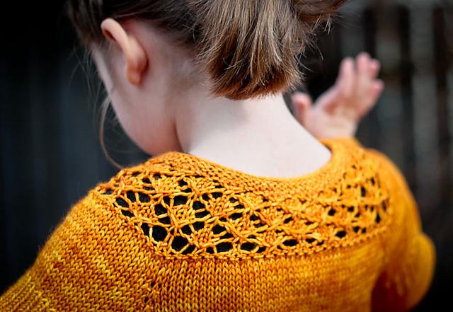 """针织:""""我亲爱的""""女孩上衣 - maomao - 我随心动"""