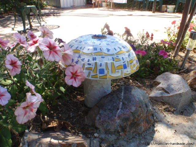 грибы из бетона для сада (1) (640x480, 203Kb)