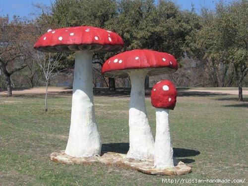 грибы из бетона для сада (2) (500x375, 138Kb)