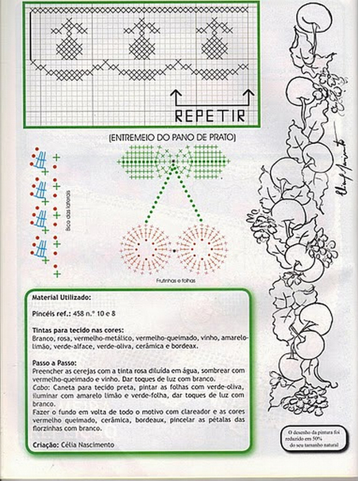 Роспись и обвязка крючком кухонных полотенец (9) (521x700, 378Kb)
