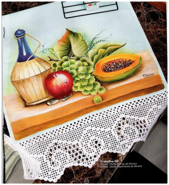 Роспись и обвязка крючком кухонных полотенец (29) (640x700, 537Kb)