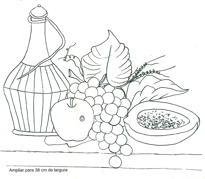 Роспись и обвязка крючком кухонных полотенец (31) (700x611, 225Kb)