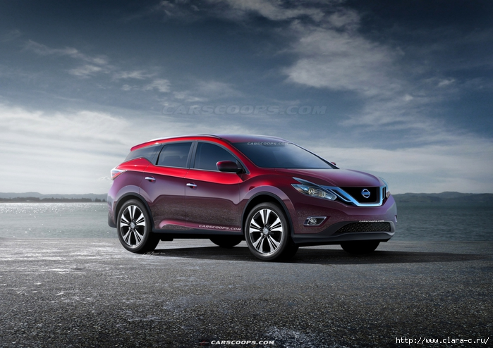 2015-Nissan-Murano-1Carscoops (700x494, 255Kb)