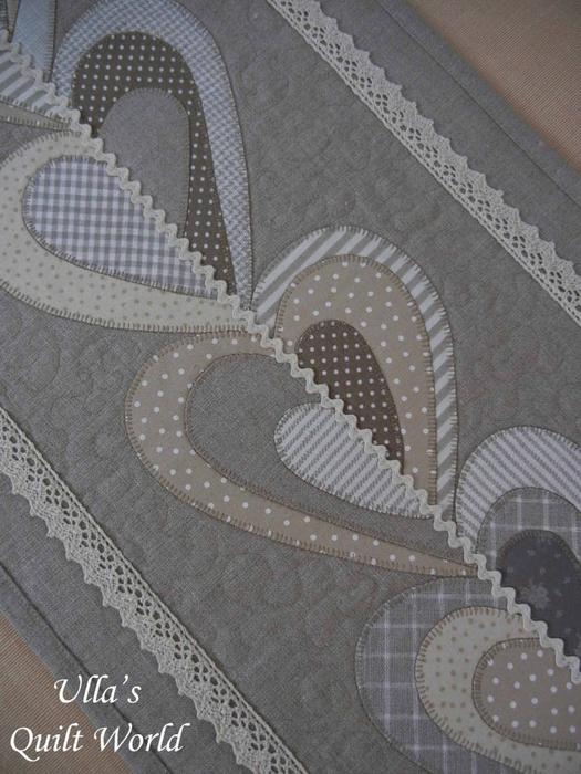Лоскутное шитье. Красивые салфетки-дорожки с аппликацией и стежкой (3) (525x700, 356Kb)