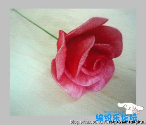 цветы из капрона. мастер-класс (12) (500x429, 88Kb)