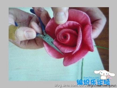 цветы из капрона. мастер-класс (14) (500x378, 96Kb)