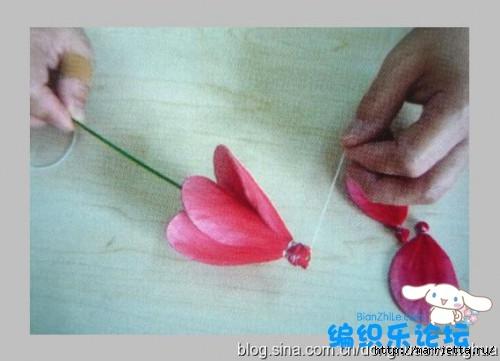 цветы из капрона. мастер-класс (24) (500x361, 88Kb)