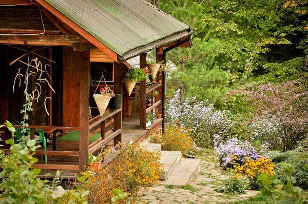 деревянный дом фото 1 (600x398, 365Kb)