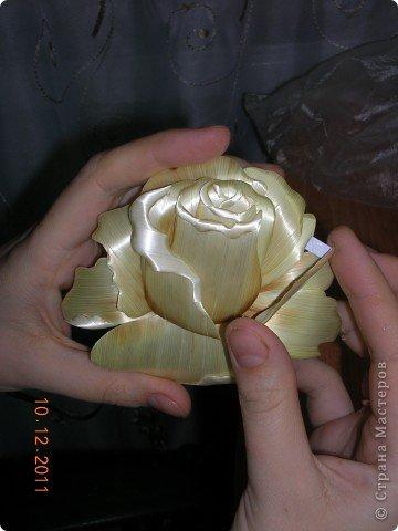 Rosa encantador.  Aplicación de paja.  Clase magistral (26) (360x480, 109Kb)