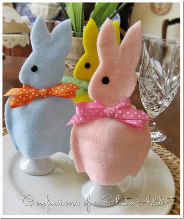 Фетровые кролики - колпачки для пасхальных яиц (1) (588x700, 259Kb)