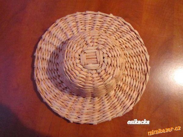 Как сплести шляпку из газетных трубочек. Мастер-класс (24) (600x450, 200Kb)