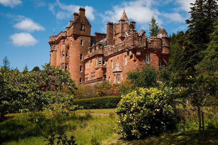 4. Замок Эдинбург (700x466, 576Kb)