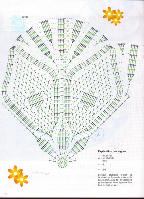 Вяжем крючком салфетки. Журнал (13) (505x700, 395Kb)