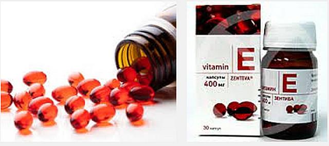 инструкция по применению витамина е: