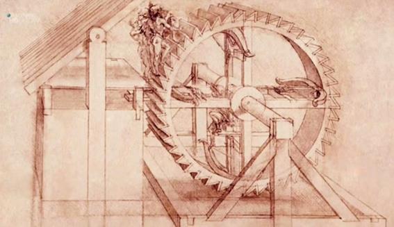 Леонардо да Винчи: военные изобретения