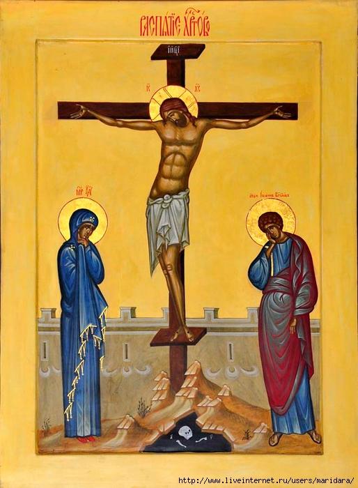 для людей, кто изображен по бокам у святого распятия христа мужское термобелье NOVA