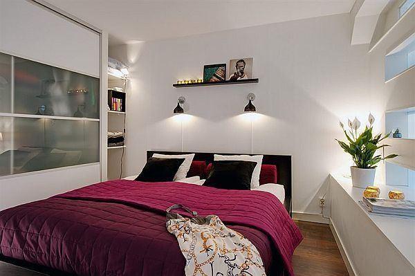 Красивая маленькая спальня4 (600x399, 168Kb)
