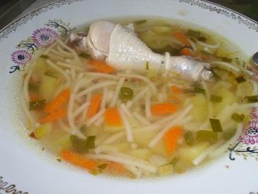 Куриный суп с вермишелью, очень вкусный супчик (365x274, 105Kb)