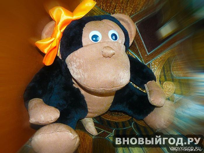 Как сделать обезьяна своими руками из картона
