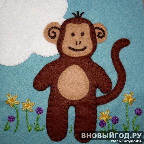 Игрушки обезьянки своими руками из бумаги