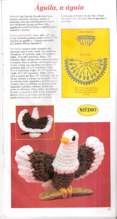 Вязание птиц крючком описание 6