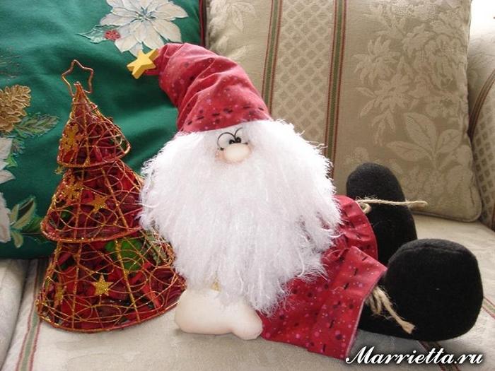 Санта Клаус. Выкройка (1) (700x525, 360Kb)