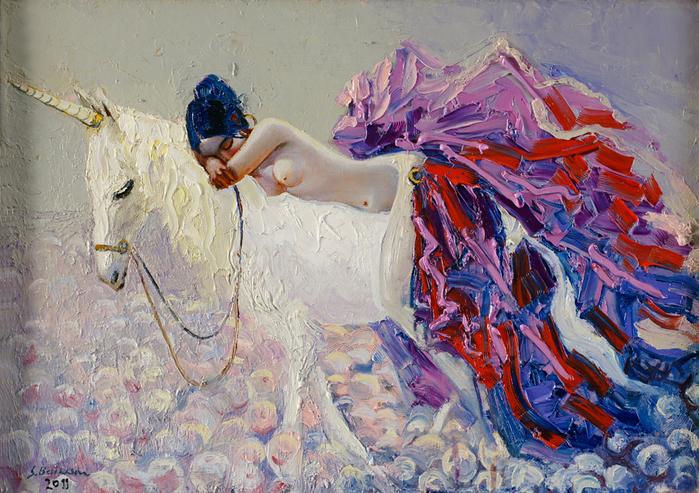 Творчество азербайджанского художника Байрама Саламова