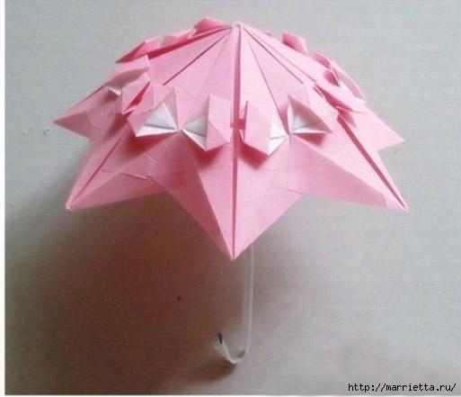 Бумажные зонтики в технике оригами (10) (513x441, 93Kb)