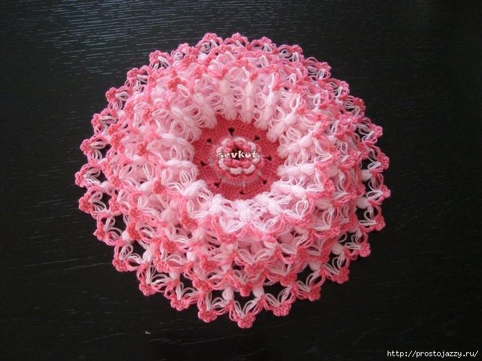 объемные цветы крючком пошагово2 (700x525, 300Kb)