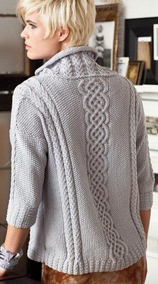 Вязание спицами для женщин на Узелок.ру: бесплатные схемы ...